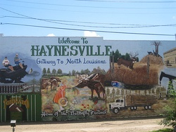 "Welcoming to Haynesville: ""Gateway to North Louisiana"""
