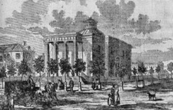 Richmond's original City Hall building, used from 1814 to 1874