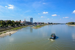 The Drava in Osijek