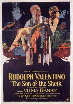 Poster for The Son of the Sheik