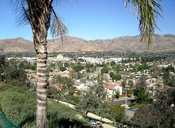 View of western Sylmar, facing north