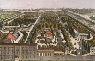 A prospect of Vauxhall Gardens in 1751