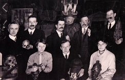 Staff at the Wellcome Historical Medical Museum, c. 1915