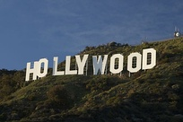 The Hollywood Sign, a symbol of the American film industry
