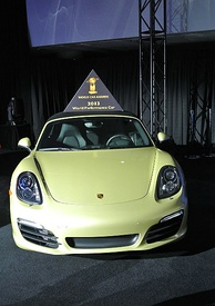 Porsche Boxster is the 2013 World Performance Car
