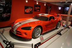 Dodge Viper Competition Coupé at the Chrysler Museum