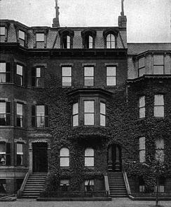 Holmes lived on Beacon Street, Boston, 1871–1894