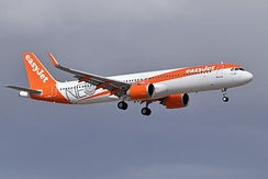 An EasyJet Airbus A321neo