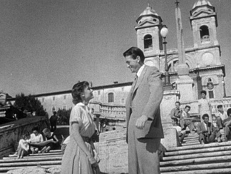 Trailer of the 1953 film Roman Holiday with Gregory Peck and Audrey Hepburn