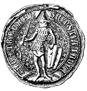 Authentic Seal of Duke Kęstutis with Latin words