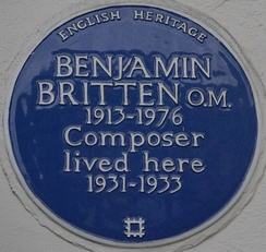 137 Cromwell Road blue plaque