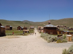 Bodie, as seen from the hill looking to the cemetery