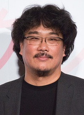 Bong Joon Ho in 2017 at the Japan premiere of Okja.
