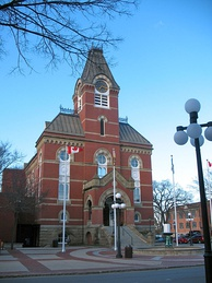 Fredericton City Hall is the seat of municipal government.