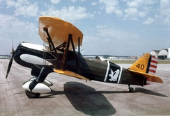 Curtiss P-6E Hawk at the National Museum of the United States Air Force