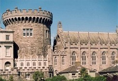 Dublin Castle was the fortified seat of British rule in Ireland until 1922.