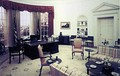 The Oval Office during the presidency of Gerald Ford