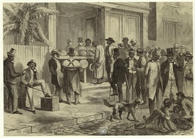 Freedmen voting in New Orleans, 1867