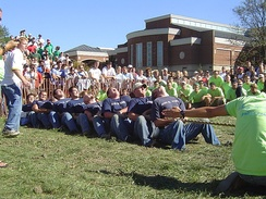 2004 Greek Week Puddle Pull at Miami University