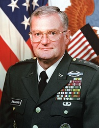 General John Shalikashvili, Chairman of the Joint Chiefs of Staff and Supreme Allied Commander