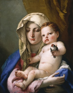 Madonna by Tiepolo, 1760