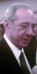 Mario Cuomo after a lecture at Baldwin–Wallace College, September 10, 2007