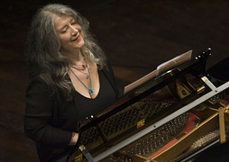 Martha Argerich, widely regarded as one of the greatest pianists of the second half of the 20th century[298]