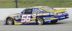 Truex's No. 56 at Pocono Raceway in 2011