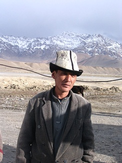 A Kyrgyz around Murghab, in the Pamirs of Tajikistan.