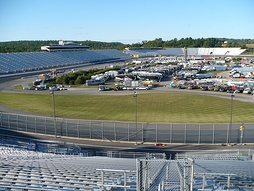 New Hampshire Motor Speedway, the race track where the race was held.