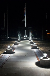 Oklahoma Veteran's Memorial in Woodland Veteran's Park