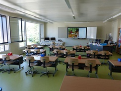 A current classroom for 6–7-year olds in Switzerland