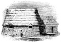 Ainu houses (from Popular Science Monthly Volume 33, 1888)