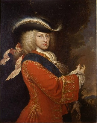 Prince Philip of Anjou, grandson of King Louis XIV of France, future King Philip V of Spain