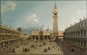 Canaletto, Piazza San Marco, Venice (it), c. 1730-1735