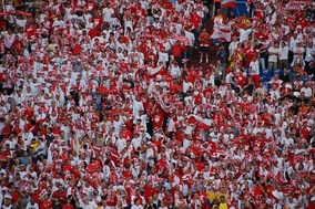 Polish fans during the 2006 FIFA World Cup