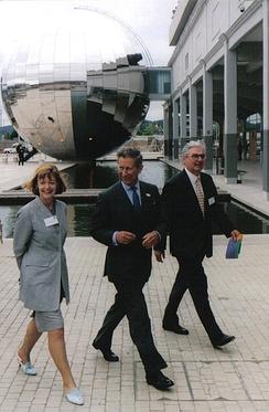 The Prince of Wales at the newly opened @Bristol, 14 June 2000