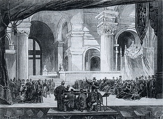 Rehearsal for the 1875 revival at the Palais Garnier