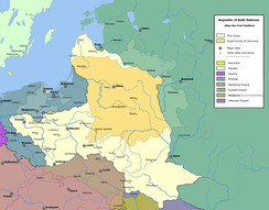 The Polish–Lithuanian Commonwealth after the First Partition (1772)