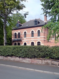 Augurio Perera's house in Edgbaston, Birmingham, where he and Harry Gem first played the modern game of lawn tennis