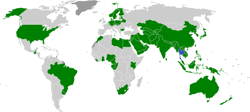 Thailand national football team opponents.