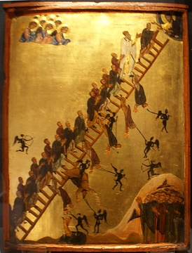 The Ladder of Divine Ascent in Saint Catherine's Monastery, Mount Sinai[1]