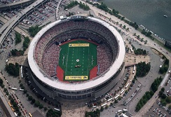 A Steelers game in 1996