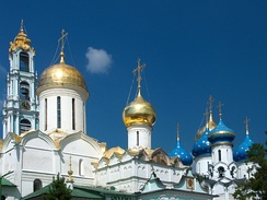 Trinity Lavra of St. Sergius, spiritual centre of the Russian Orthodox Church