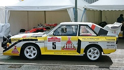 Röhrl's final WRC victory came at the wheel of an Audi Sport Quattro S1 E2 at the 1985 Rallye Sanremo. The car was paraded at the Ignition Festival of Motoring in 2017.