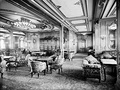 The 1st-Class Lounge of the RMS Olympic, Titanic's sister ship