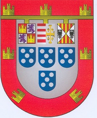 Arms used by the Duke of Guimarães.
