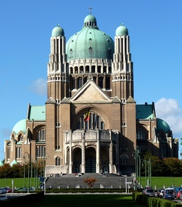 Basilica of the Sacred Heart in Brussels, Belgium (1925)