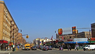 Broadway at Dyckman Street in Inwood