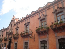The Casa de la Marquesa hosted the Foreign Secretary when Querétaro was the Mexican capital.